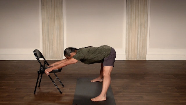 Chair Yoga Two