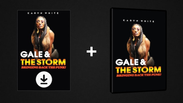 Gale & The Storm - DVD/Digital Pack