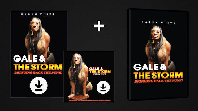 Gale & The Storm - DVD/Digital/Soundtrack Pack