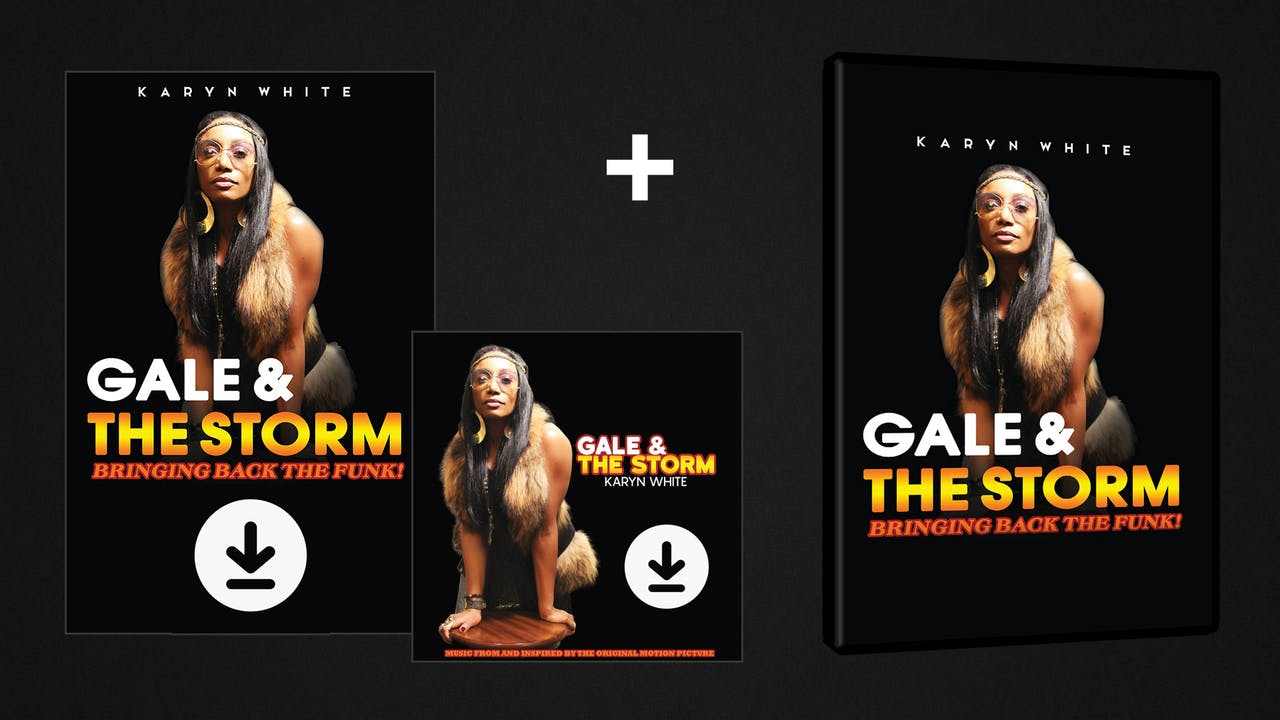 Gale & The Storm - DVD/Digital/Soundtrack Pack