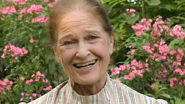 Colleen Dewhurst on Marilla Cuthbert