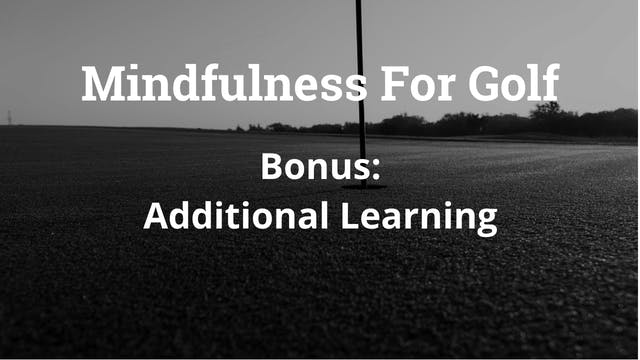 Lesson 1: Video 3 - HOW TO START USING MINDFULNESS