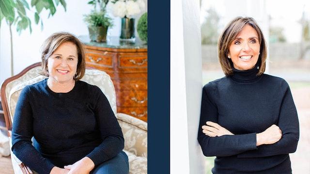 Doro Bush Koch and Tricia Reilly Koch