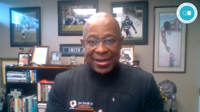 Motivational speaker Dr. Jim Smith Jr.