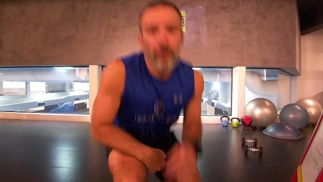 Body Weight Training με τον Θεολόγο Τερζιάδη