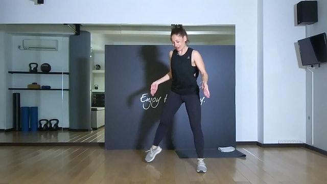 Hips and Abs με την Τάνια Μειμαρίδη