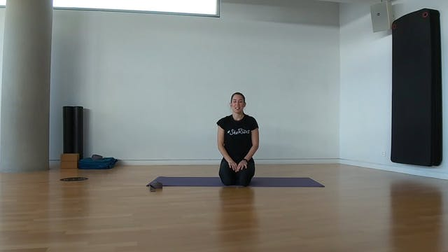 Stretching με την Δήμητρα Σκούρα