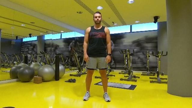 Hips and Abs με τον Λάζαρο Πάντο