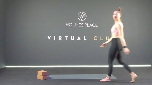 Stretching με την Ειρήνη Τζιδημοπούλου