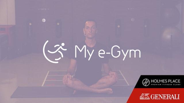 Yoga for Strength and Flexibility με τον Γιάννη Καραγεώργο