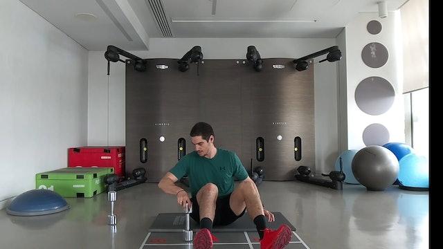 Body Weight Training με τον Θωμά Λογοθέτη