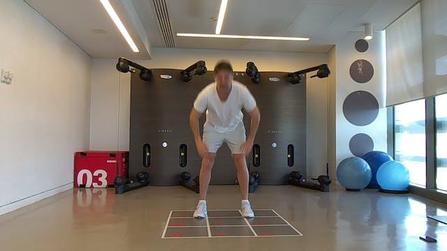 Body Weight Training με τον Μάριο Τάτση