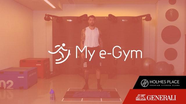 Body Weight Training με τον Μάνο Βασιλάκη