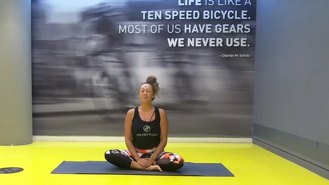 Mindfulness: Somatics Movement με την Άννα Ζώρζου