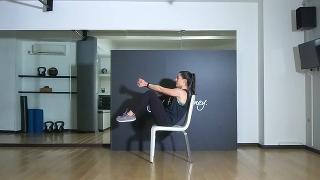 Stretching Chair Session 2