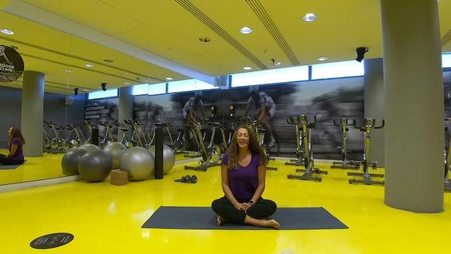 Mindfulness: Somatics Movement με την Άννα Ζώρζου - 2o session