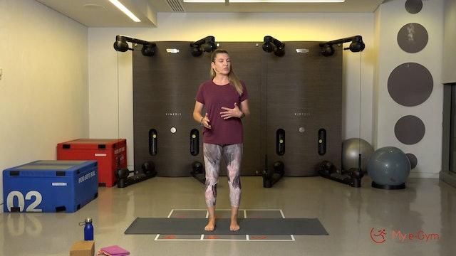 Pilates με την Άννα Λύκουρα