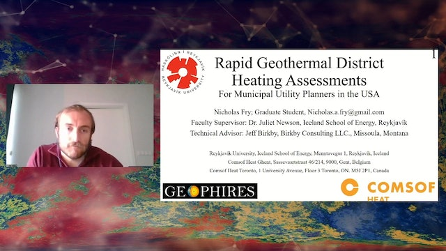 Rapid Geothermal District Heating Assessments (E-Poster)