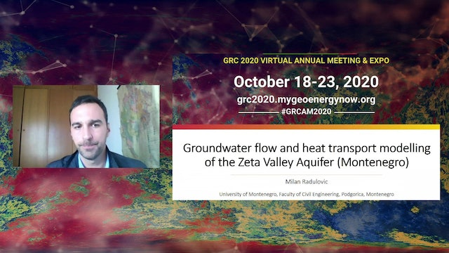 Groundwater Flow and Heat Transport Modelling at Zeta Valley Aquifer (E-Poster)