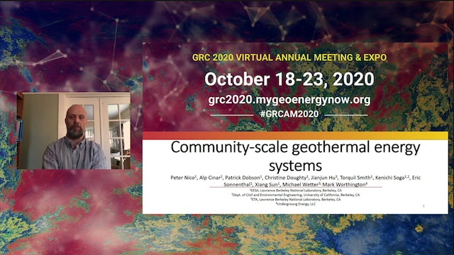 Community-scale Geothermal Energy Systems (E-Poster)