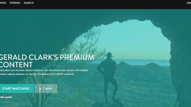 Announcing Premium Content with Geral...