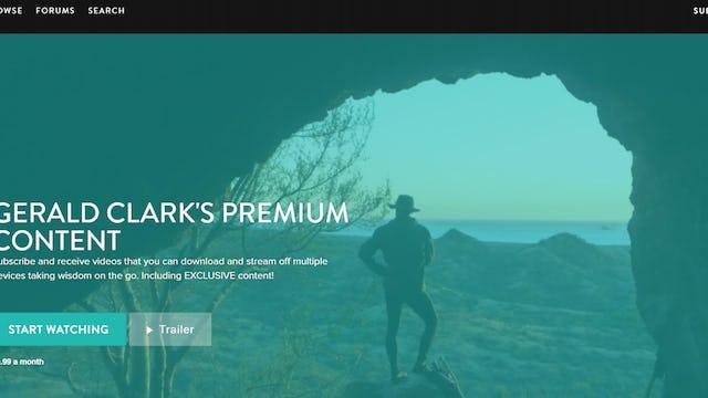 Announcing Premium Content with Gerald Clark