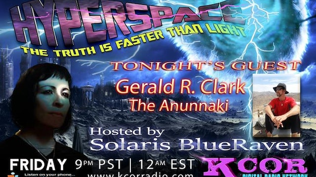 KCOR Interview with Solaris Blueraven featuring Gerald Clark