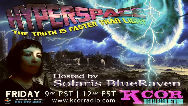 KCOR Hyperspace Solaris BlueRaven with Gerald Clark