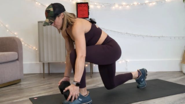 LUNGE DAY: Strength and Power