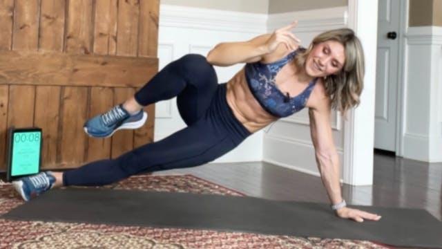 BACK SHRED: Balance and Flexibility