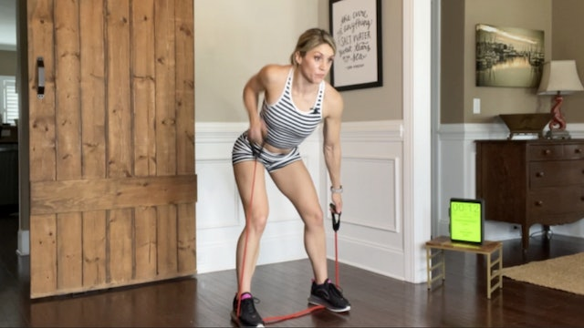 LAT SPREAD: Agility and Muscular Endurance