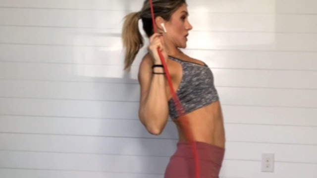 BACK DAY:  Agility and Muscular Endurance