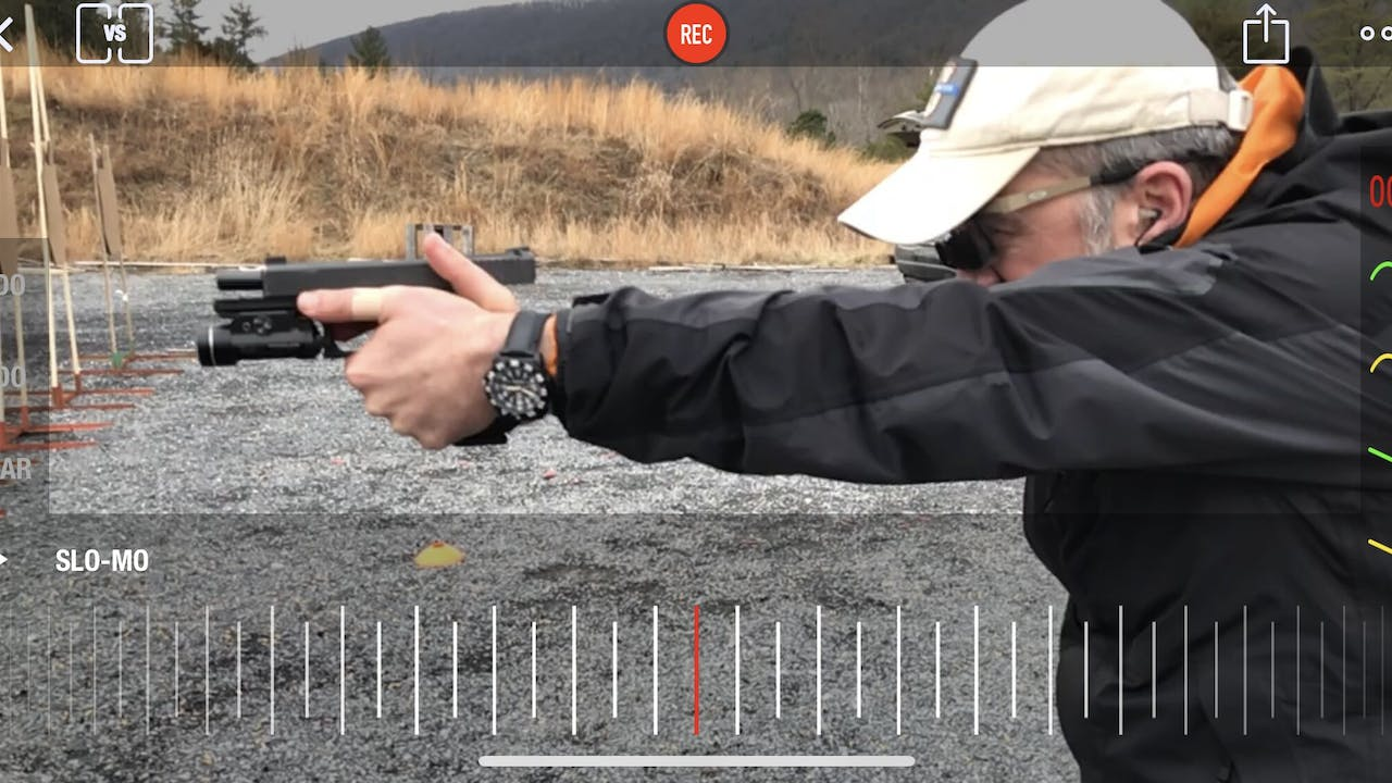 CFE Lesson Grip: Firing Hand, Thumb Up