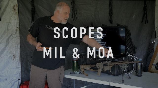 Scopes MOA & MIL