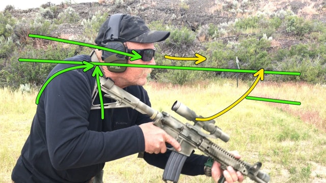 Rifle Stance Video Diagnostic Example 2