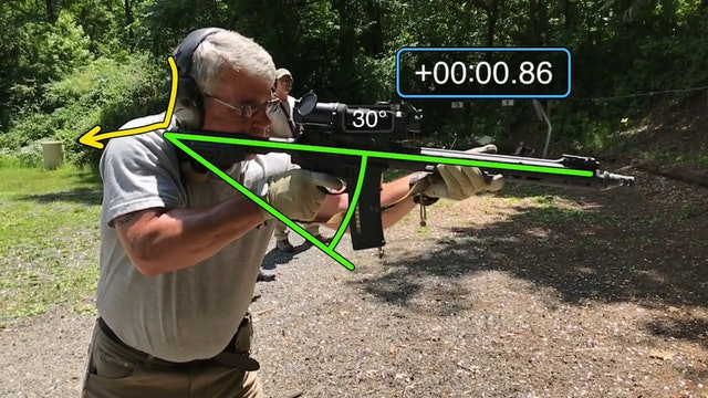 Rifle Presentation Video Diagnostic Example 2
