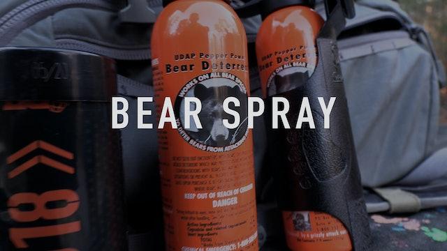 Bear Spray