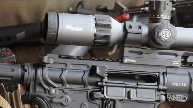 Rifle Setup - february 12 2018 - range prep gun maintenance theme