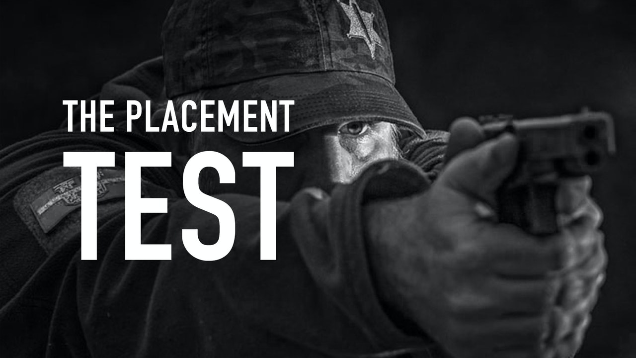 THE PLACEMENT TEST