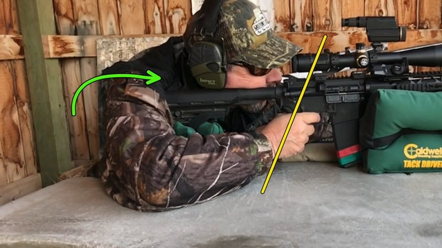 Rifle Shooting Position Bench