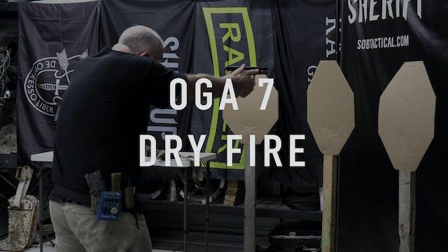 """OGA 7 """"Dry Fire"""" Pistol"""