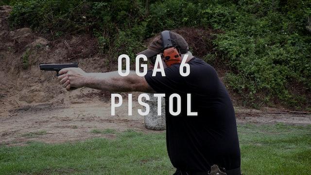 "OGA 6 Drill ""Live Fire"" Pistol"