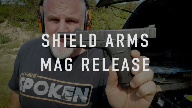 Shield Arms Mag Release