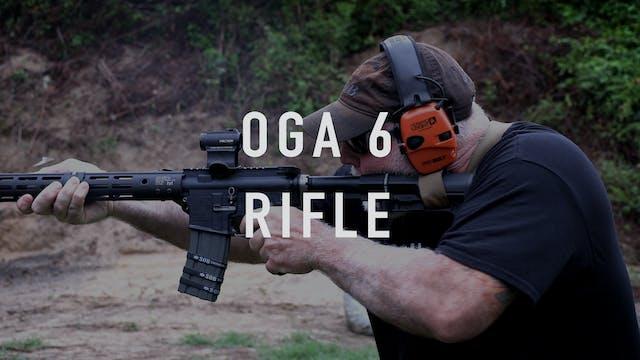 "OGA 6 Drill ""Live Fire"" Rifle"