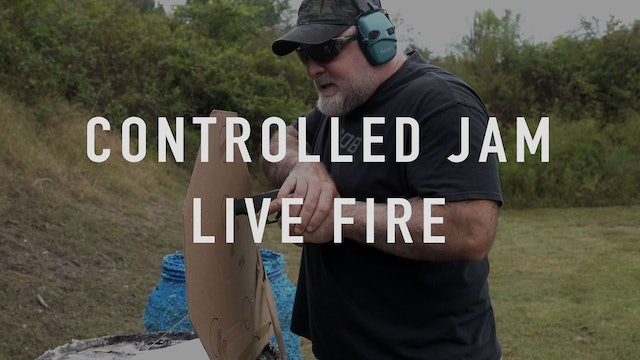 Controlled Jam Live Fire