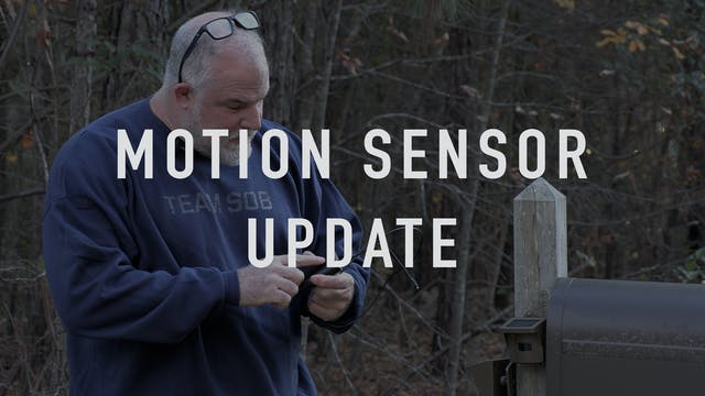 Motion Sensor Update
