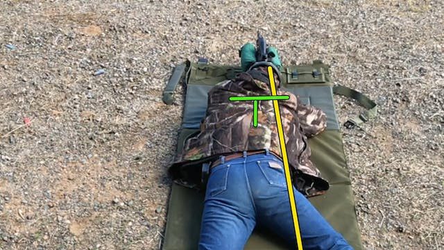 Rifle Shooting Position Prone