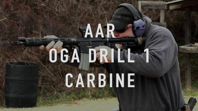 AAR OGA Drill 1 Carbine