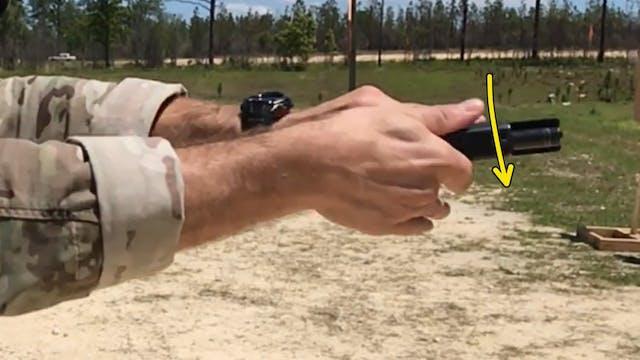 Left Handed Pistol TRB