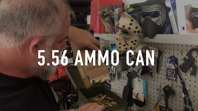 Packing a 5.56 Ammo Can
